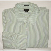 J Crew Striped Dress Shirt Men's Extra Large - XL - 17-17.5