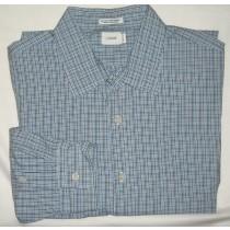 J Crew Mini-Tattersall Dress Shirt Men's Extra Large - XL - 17-17.5
