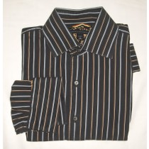 Banana Republic Striped Dress Shirt Men's Medium - 15-15.5