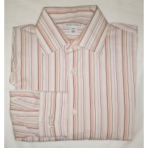 Banana Republic Striped Dress Shirt Men's Large - 16-16.5