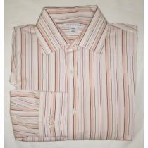 Banana Republic Striped Dress Shirt Men's Large - 16-16.5
