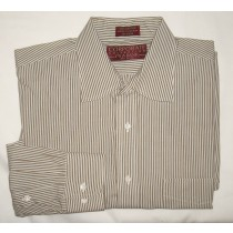 Jos A Bank Corporate Collection Striped Dress Shirt Men's 16-34/35