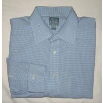 Jos A Bank Stays Cool Gingham Dress Shirt Men's 16.5-33