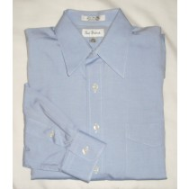 Paul Fredrick Pinpoint Oxford Dress Shirt Men's 15-32