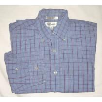 Paul Fredrick Imported Broadcloth Dress Shirt Men's 15-33