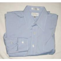 Paul Fredrick Pinpoint Oxford Dress Shirt Men's 15-32