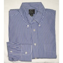 Jos A Bank Striped Dress Shirt Men's 15.5-32