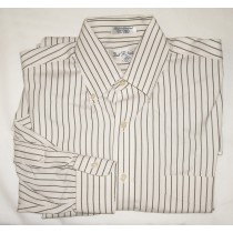 Paul Fredrick Pinpoint Oxford Dress Shirt Men's 15.5-35