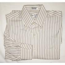 Paul Fredrick Pinpoint Oxford Dress Shirt Men's 15.5-35