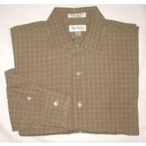 Paul Fredrick Imported Broadcloth Dress Shirt Men's 16-33