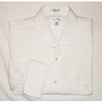 Paul Fredrick Pinpoint Oxford Dress Shirt w/French Cuffs Men's 17-32