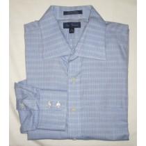 Paul Fredrick Finest Dobby Dress Shirt Men's 17.5-33