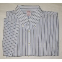 Brooks Brothers S/S Traditional Fit Non-Iron Shirt Men's 18