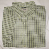 J. Crew Plaid Short Sleeve Shirt Men's XL - Extra Large