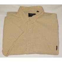 American Eagle Outfitters Short Sleeve Check Shirt XL - Extra Large