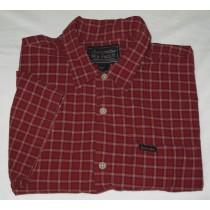 Abercrombie & Fitch Plaid Short Sleeve Shirt Men's XL - Extra Large