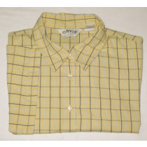 Orvis Check Short Sleeve Shirt Men's XL - Extra Large