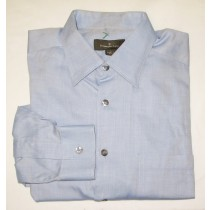 Ermenegildo Zegna Herringbone Shirt Men's Larger - L