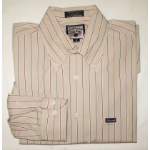 Faconnable Striped Shirt Men's Medium