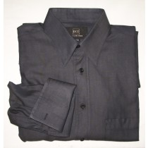 Ike by Ike Behar Herringbone Dress Shirt w/French Cuffs Men's 15-32/33