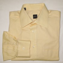Ike Behar Striped Dress Shirt Men's 15.5-34