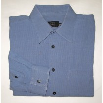 Ike Behar Striped Dress Shirt Men's 16.5-34