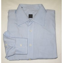 Ike Behar Striped Dress Shirt Men's 16.5-34