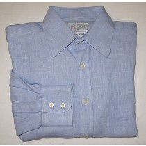 Thomas Pink Linen Blend Shirt Men's Medium