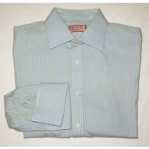 Thomas Pink Striped Dress Shirt Men's 16 31.5