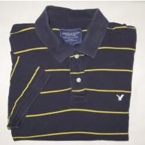 American Eagle Outfitters Eagle Polo Shirt Men's L - Large