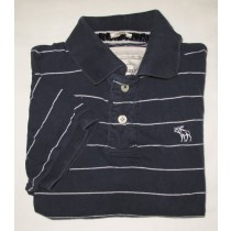Abercrombie & Fitch Muscle Fit Polo Shirt Men's L - Large