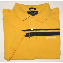Abercrombie & Fitch Muscle Fit Polo Shirt Men's Estimate L - Large