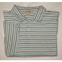 J. Crew Striped Polo Shirt Men's XL - Extra Large