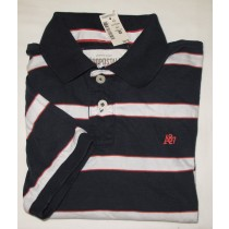 Aeropostale Striped Polo Shirt Men's Small