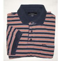 Faconnable Striped Polo/Golf Shirt Men's Medium