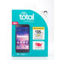Total Wireless LG Rebel 4 LTE  Prepaid Smartphone