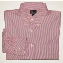 Jos A Bank Dress Shirt Men's 15.5-35 Regular