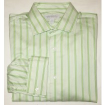 Express Design Studio Classic Fit Dress Shirt w/French Cuffs Men's XL