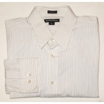 Express Design Studio Modern Fit Dress Shirt Men's XL - 17-17.5