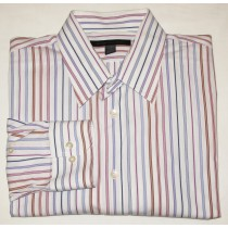 Express Design Studio Modern Fit Stretch Dress Shirt Men's XL 17-17.5