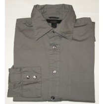 Express Grey Textured Shirt Men's M - Medium