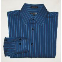 Express 1MX Modern Fit Stretch Dress Shirt Men's S - 14-14.5 - Small