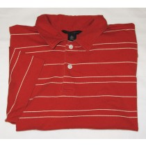Banana Republic Pima Cotton Striped Polo Shirt Men's XL - Extra Large