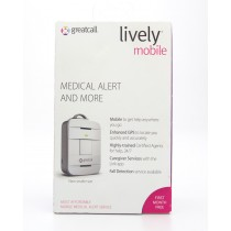 GreatCall 5Star Lively Mobile Urgent Response Device