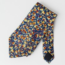 Countess Mara Silk Fall Leaves Tie