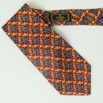 Fendi Silk Floral Tie