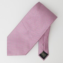 Banana Republic Woven Silk Geometric Tie
