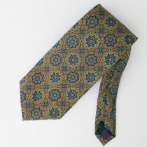 J. Crew Printed Silk Geometric Tie