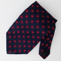 Giacomo De Senese Woven Silk Geometric Tie