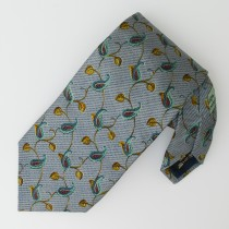 Ermenegildo Zegna Silk Vines and Paisley Tie